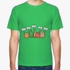Классическая футболка Веганы само зло!