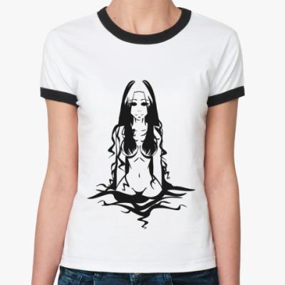 Женская футболка Ringer-T Водяная Нимфа