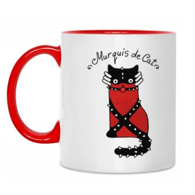 Кружка Murquis de Cat из серии 'Writer cats'