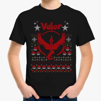 Детская футболка Pokemon GO (Team Valor)