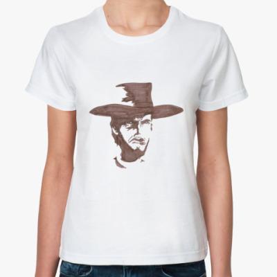 Классическая футболка Клинт Иствуд