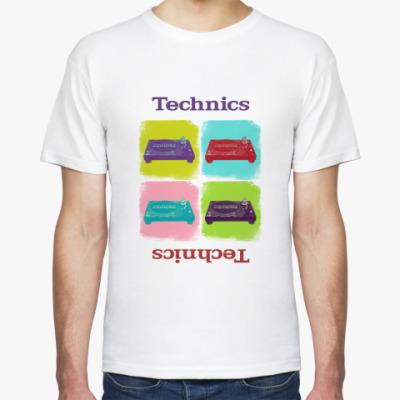Футболка Technics Pop-art