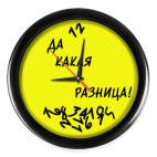 Часы (без цифр)