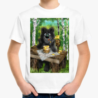 Детская футболка Любитель меда!