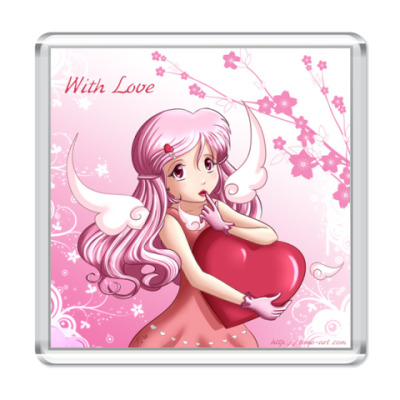 Магнит  'With Love'