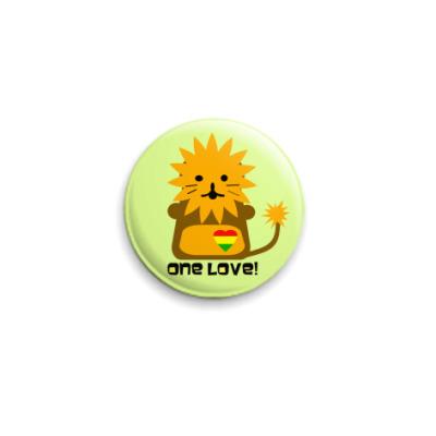 Значок 25мм ONE LOVE