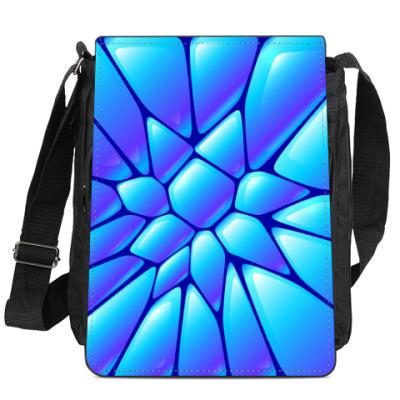Сумка-планшет Синий фарфор