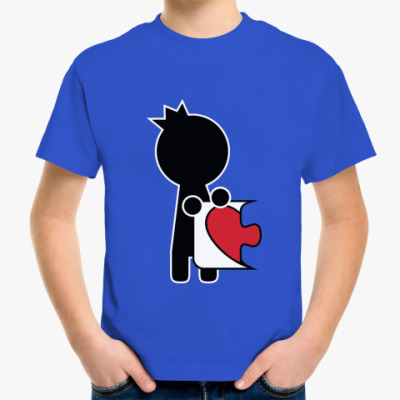 Детская футболка Парная футболка для влюблённых