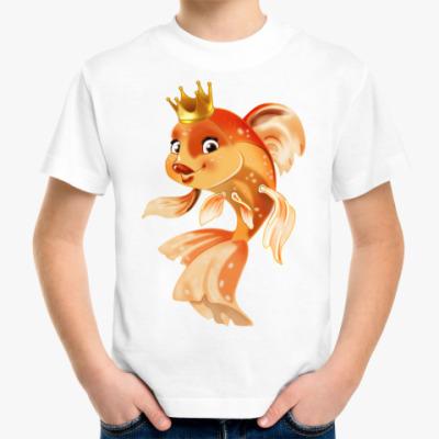 Детская футболка Золотая рыбка