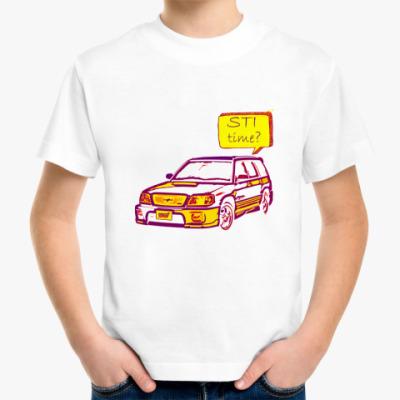 Детская футболка STI time?