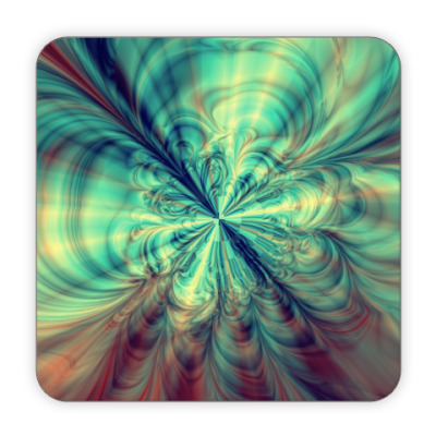 Костер (подставка под кружку) абстракция