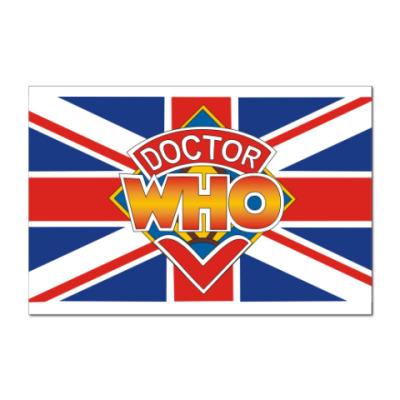 Наклейка (стикер) Doctor Ху