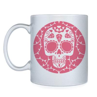 Кружка Мексиканский череп