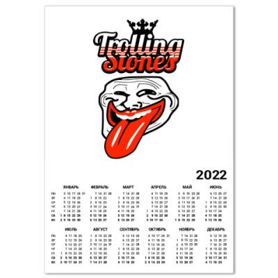 Календарь Trolling Stones