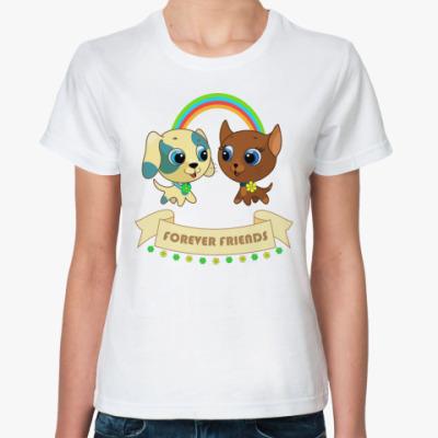 Классическая футболка Друзья