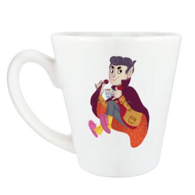 Чашка Латте КВампир
