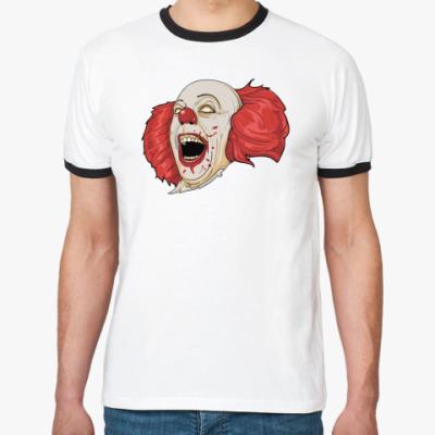 Футболка Ringer-T   Mad Clown