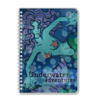 Тетрадь mermaid