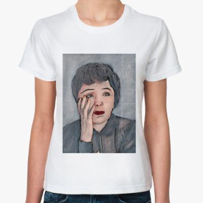 Классическая футболка Эдит Пиаф