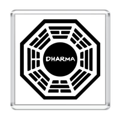 Магнит  DHARMA