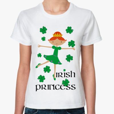 Классическая футболка Irish princess