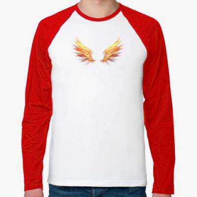 Футболка реглан с длинным рукавом Fire Wings