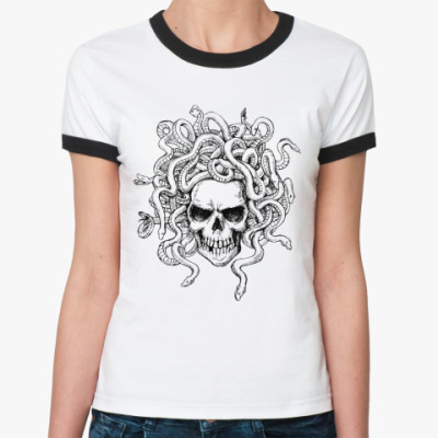 Женская футболка Ringer-T Medusa