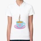 чашка кофе любителям горячего