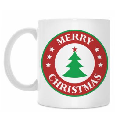 Кружка Merry Christmas