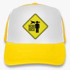 Кепка Trucker (желтая) Рок в голове