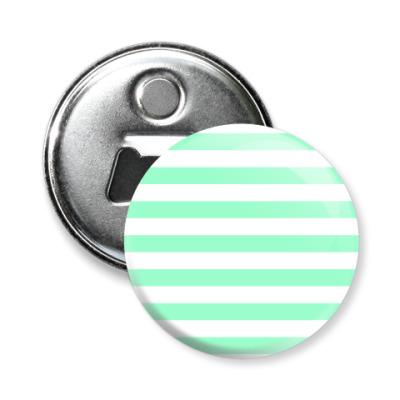 Магнит-открывашка Stripes