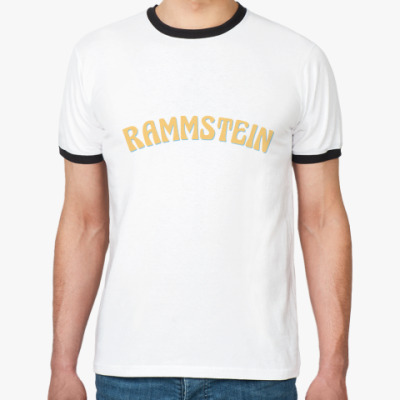 Футболка Ringer-T Rammstein
