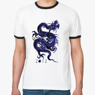Футболка Ringer-T дракон