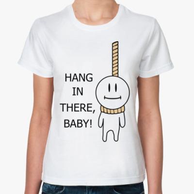 Классическая футболка Hang On!