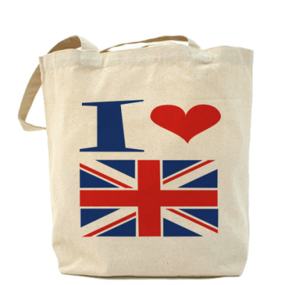 Сумка Я люблю Англию