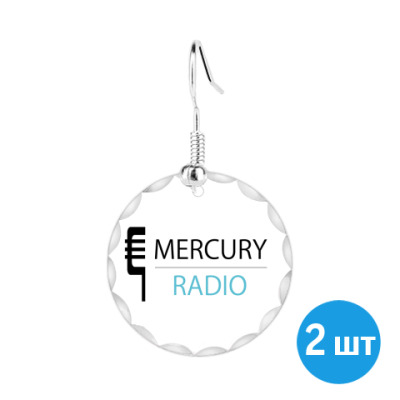 Серьги   Mercury Radio
