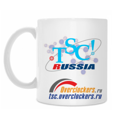 Кружка Кружка TSC! Russia