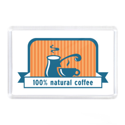 100% natural coffee