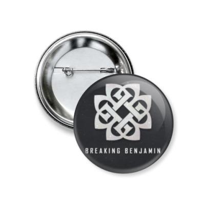 Значок 37мм Breaking Benjamin