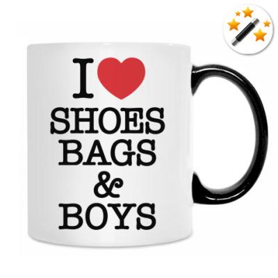 I love shoes, bags & boys
