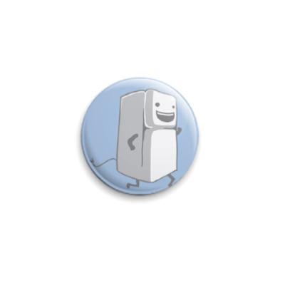Значок 25мм Холодильник