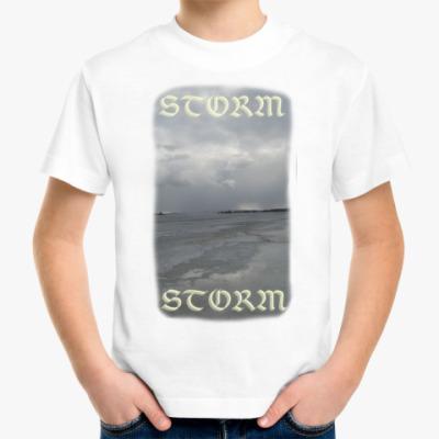 Детская футболка Шторм