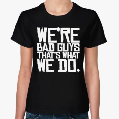 Женская футболка Отряд самоубийц