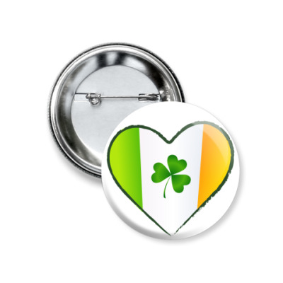 Значок 37мм Love Ireland