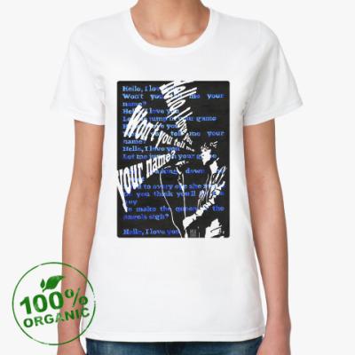 Женская футболка из органик-хлопка Джим Моррисон
