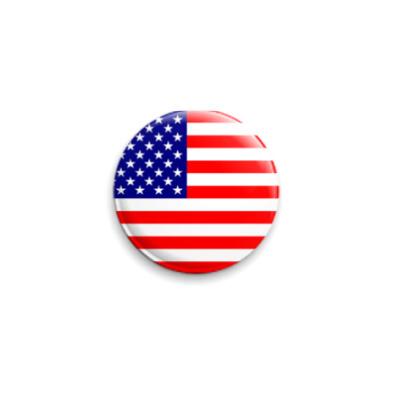 Значок 25мм  США