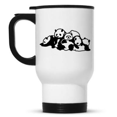 Кружка-термос Панды