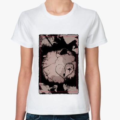 Классическая футболка Je T`Aime Moi Plus