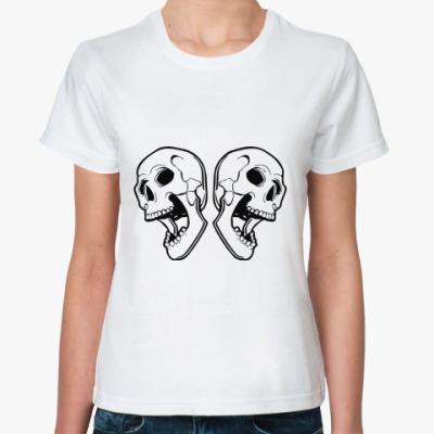 Классическая футболка skulls