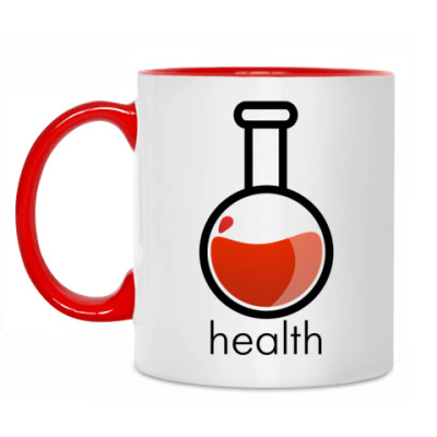 Кружка Health Poition